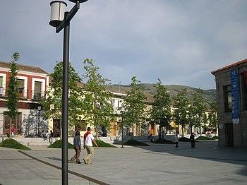 Plaza de España y Plaza de Piedita.