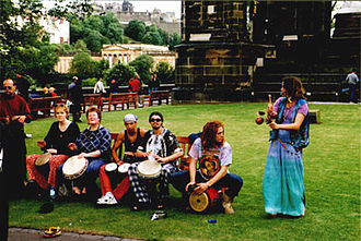 Arts festival - Edinburgh Fringe, Scotland, a notable arts festival