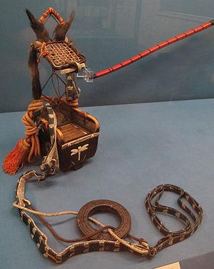 Yebira - Image: Edo period sakatsura ebira (a fur covered quiver)