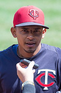 Eduardo Escobar on April 5, 2013.jpg