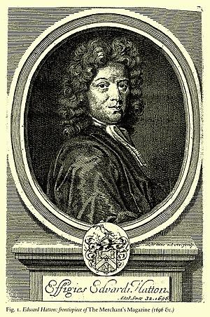Edward Hatton (surveyor) - Edward Hatton