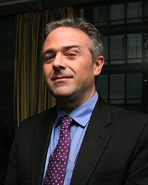 Edward Luce - Image: Edward Luce May 2012