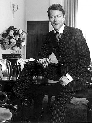 Edward Davenport (fraudster) - Edward Davenport at 33 Portland Place, London W1