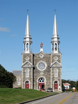L'Isle-aux-Coudres - Church of l'Isle-aux-Coudres