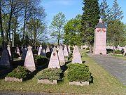 Sowjetischer Ehrenfriedhof.