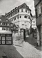 Eingang zum Tübinger Stift (AK 1681 F Schimpf - 542S7 Gebr. Metz 1959).jpg