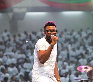 El Mafrex - el Mafrex ministering during the 2014 AKSG Carol night at Ibom International Stadium, Uyo, Nigeria.