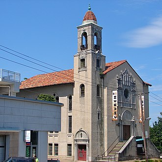 Howard Wright Cutler - Image: Eldbrooke UM Church DC