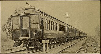 West Jersey and Seashore Railroad - Electric traction was used on the West Jersey and Seashore Railroad, 1906