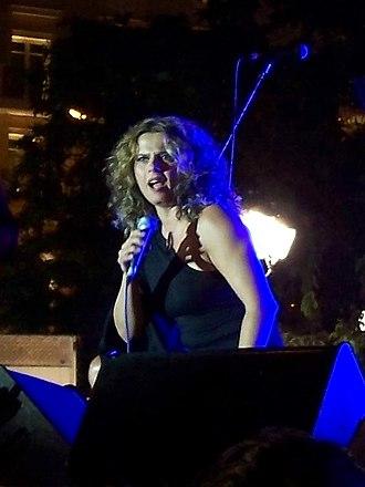 Eleni Tsaligopoulou - Eleni Tsaligopoulou performing in July 2007