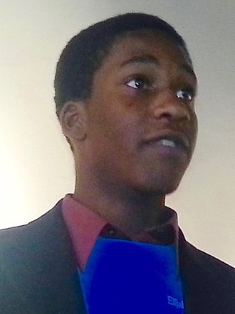 Green Party presidential primaries, 2016 - Image: Elijah Manley SPUSA Convention (cropped)