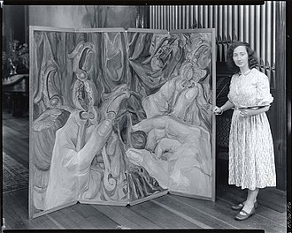 Elizabeth Tashjian - Elizabeth Tashjiaan, American painter, 1912-2007