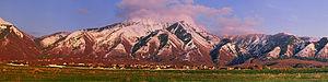 Elk Ridge, Utah - Panorama of Elk Ridge