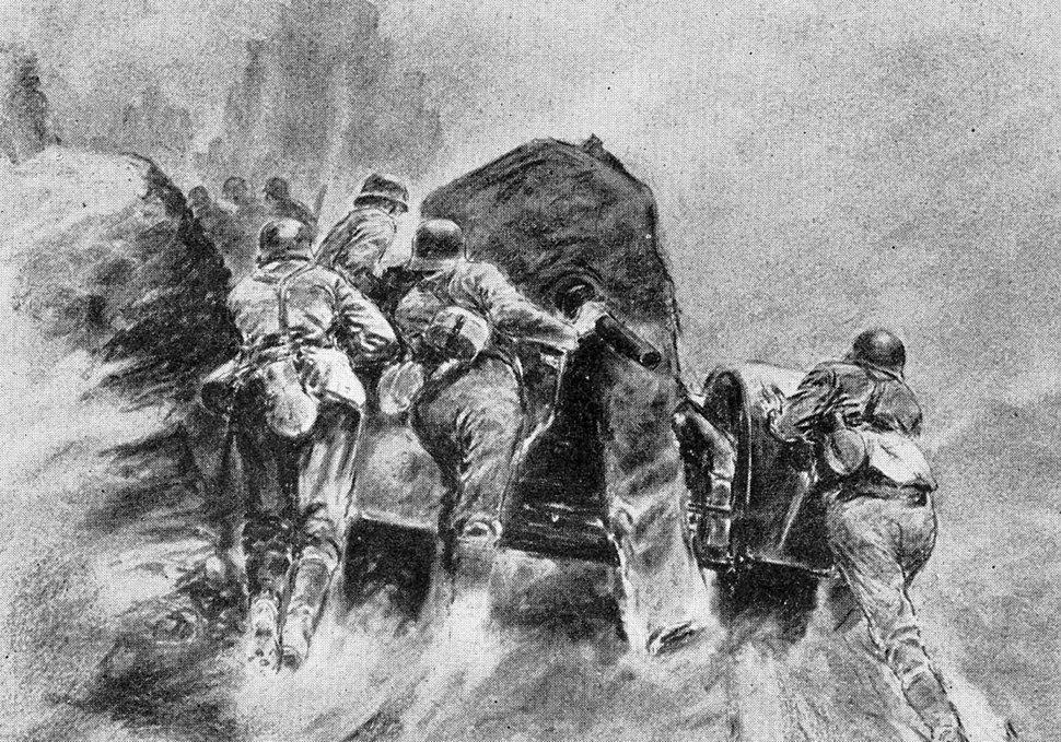 Ellgaard Flak im Balkan 1942