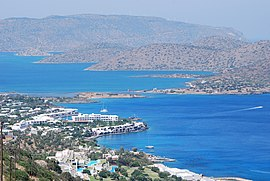 Overview of Elounda