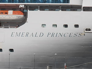 Emerald Princess Name Tallinn 2 August 2012.JPG