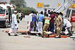 Emergency Exercise Faisalabad International Airport May 2016 13.jpg