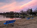 Emmetsburg, Iowa - Five Island Lake at sunset.jpg