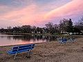 Emmetsburg, Iowa - Five Island Lake at sunset.jpg