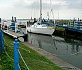 Entering the lock, Heybridge Basin - geograph.org.uk - 540732.jpg