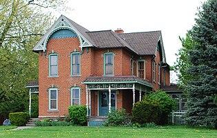 Ephraim and Emma Woodworth Truesdell House