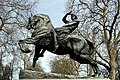 Equestrian statue called Physical Energy in Hyde Park in the City of Westminster, London in spring 2013 (3).JPG