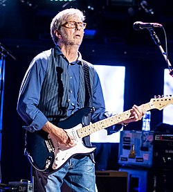 Eric Clapton - Royal Albert Hall - Wednesday 24th May 2017 EricClaptonRAH240517-30 (34987232355) (cropped).jpg