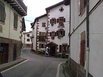 Erratzu - A street in Erratzu