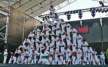 Human pyramid - Wikipedia