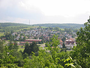 Eschelbronn - View of the town