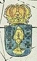 Escudo da Galiza em A Chart of Spaine (1675).jpg