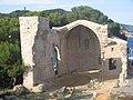 Església gòtica del recinte emmurallat de Tossa.JPG