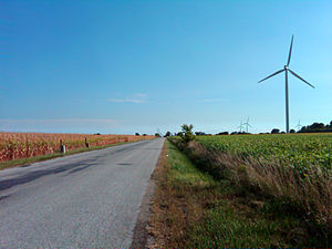 Essex County, Ontario - Wind turbines in Essex County, Ontario, Canada.