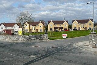 Clarecastle Village in Munster, Ireland