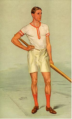 "Raymond Etherington-Smith - As depicted by ""Spy"" (Leslie Ward) in Vanity Fair, 5 August 1908"