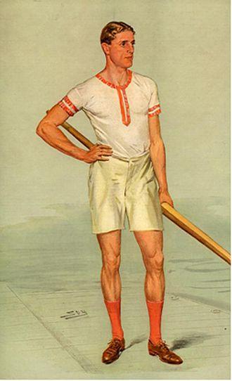 "Raymond Etherington-Smith - As depicted by ""Spy"" (Leslie Ward) in Vanity Fair, 5 August 1908"