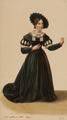 Eugène Du Faget - Costume designs for Guillaume Tell - 2. Laure Cinti-Damoreau as Mathilde.png