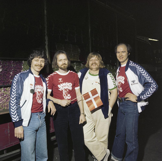 Bamses Venner - Bamses Venner at a photoshoot for the Eurovision Song Contest 1980