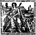 Eutropii historiæ Romanæ breviarium, cum versione Anglicâ, in qua, verbum de verbo, quantum fieri licuit, exprimitur, notis quoque and indice Fleuron T132863-39.png