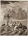 Evasion de cinbq esclaves anglais a bord d un radeau.jpg