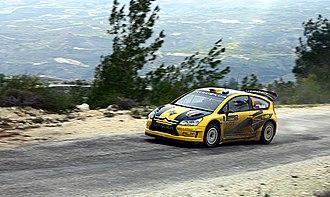 Citroën Junior Team - Image: Evgeny Novikov 2009 Cyprus Rally