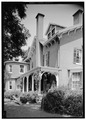 Exterior of West Facade, July 1941. - Springwood, Hyde Park, Dutchess County, NY HABS NY,14-HYP,5-12.tif