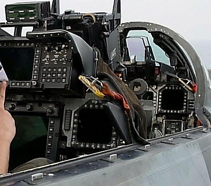 F 14 Cockpit Description F-1...