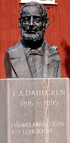 Fredrik August Dahlgren på Ransäters hjemstavnfriluftsmuseum