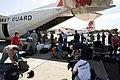 FEMA - 42099 - Disaster workers board a plane in American Samoa.jpg