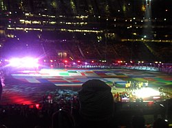 FIFA World Cup 2010 Final opening ceremony.jpg