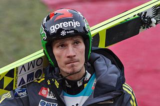 Robert Kranjec Slovenian ski jumper