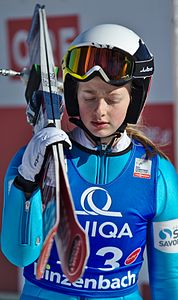 FIS Ski Jumping World Cup Ladies Hinzenbach 20170205 DSC 0106.jpg