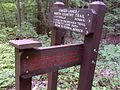 FLT M12 5.2 mi - Signs at southern terminus of Bristol Hills Branch Trail - panoramio.jpg