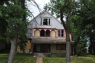National Register of Historic Places listings in Faulk County, South Dakota - Image: FRANK AND CLARA TURNER HOUSE; FAULK COUNTY, SD